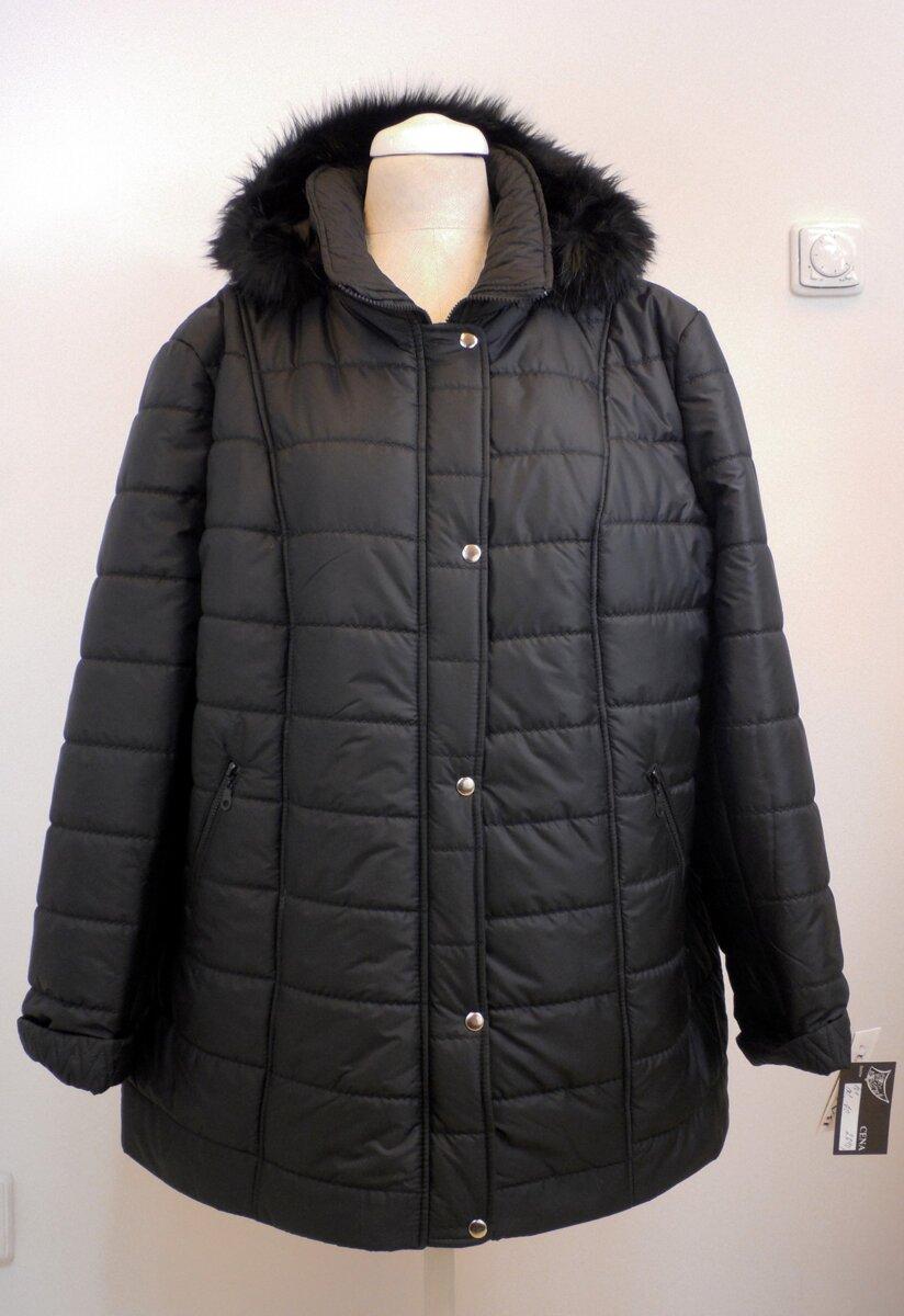 76849e037a88 Dámská zimní bunda - nadměrné velikosti