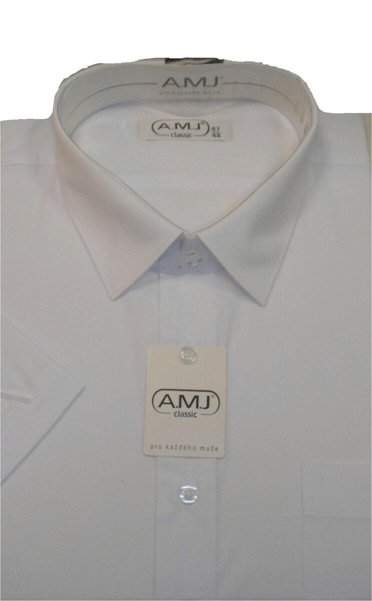 7d9fa730993 Pánská košile - bílá - nadměrná velikost