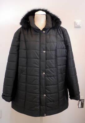 Dámská zimní bunda - nadměrné velikosti e9e5000cfb2